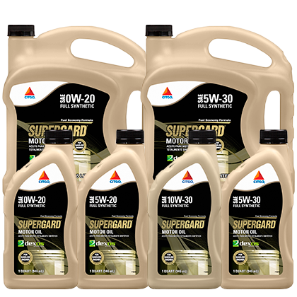 SUPERGARD Synthetic Motor Oils