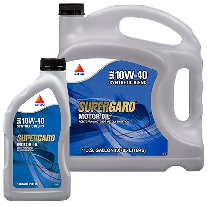 SUPERGARD Synthetic Blend SAE 10W-40