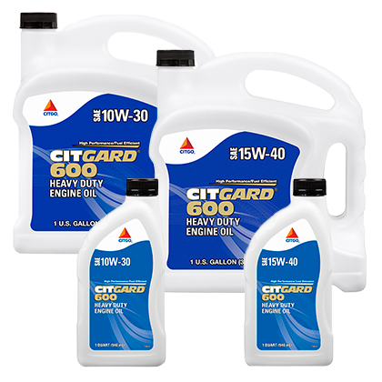 CITGARD 600 Multi-Viscosity Engine Oils
