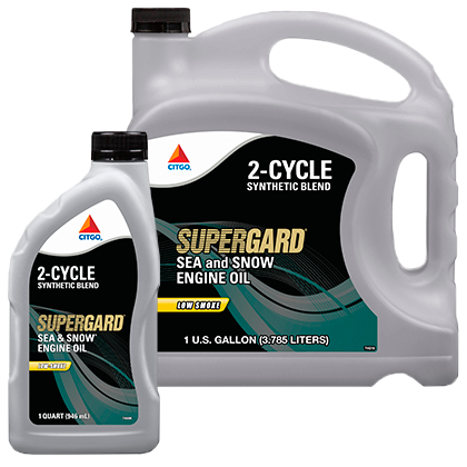 SUPERGARD Sea and Snow 2-Cycle Engine Oil