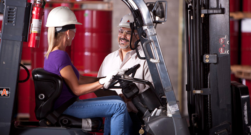 Forklift Operator Image